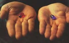 pillola rossa o azzurra