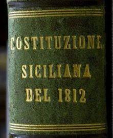 costituzione siciliana