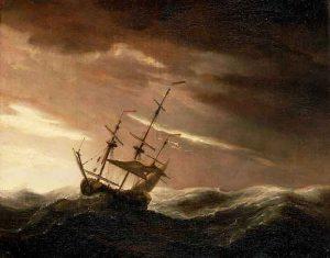 Nave-in-tempesta