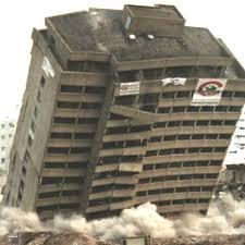 crollo edificio