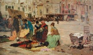 Favretto_il-mercato-di-Campo-San-Polo-a-Venezia