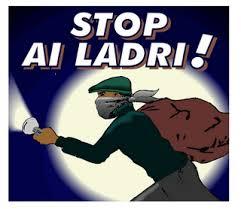 stop ai ladri
