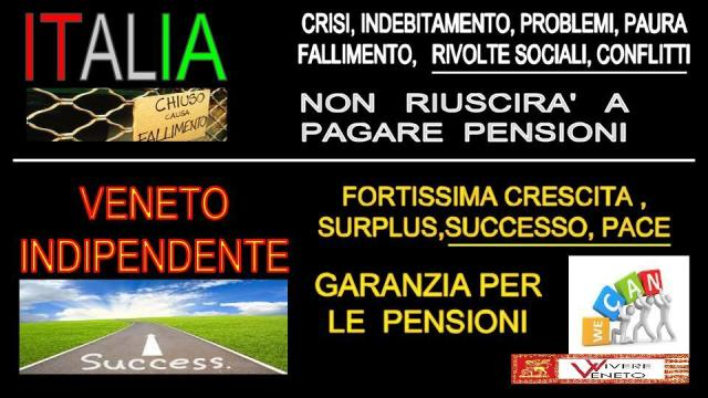 italia rivolta sociale fallimento,  Veneto pace