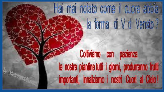 cuore a Forma di Veneto