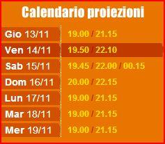 orario priezioni Padova LEone Vetro