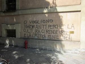cultura rende liberi