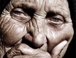 volto di anziana
