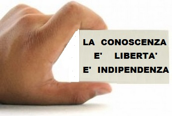 conoscianza-libertà-indipendenza