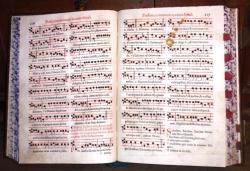 Dal Missale Romanum del 1609, della chiesa di Coi