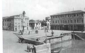 Piazza barche con il Leone di San Marco 1