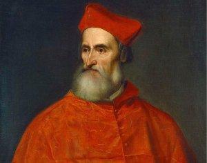 Titian, Cardinal Pietro Bembo, Italian, c. 1490 - 1576, c. 1540, oil on canvas, Samuel H. Kress Collection